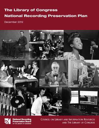 National Recording Preservation Plan Cover